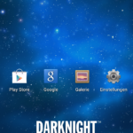 Wiko Darknight - Homescreen