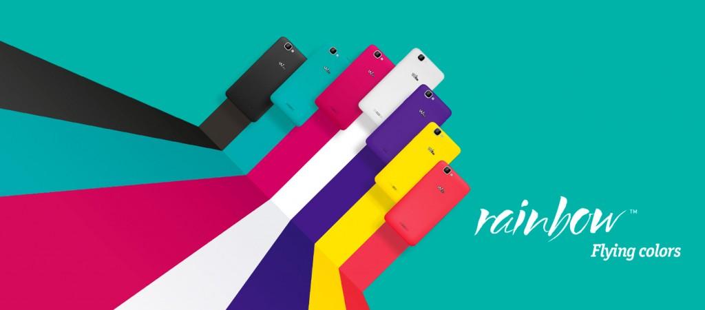 Wiko Rainbow (Farben), (C) wikomobile.de