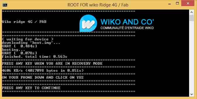Wiko Ridge Root Tool 6