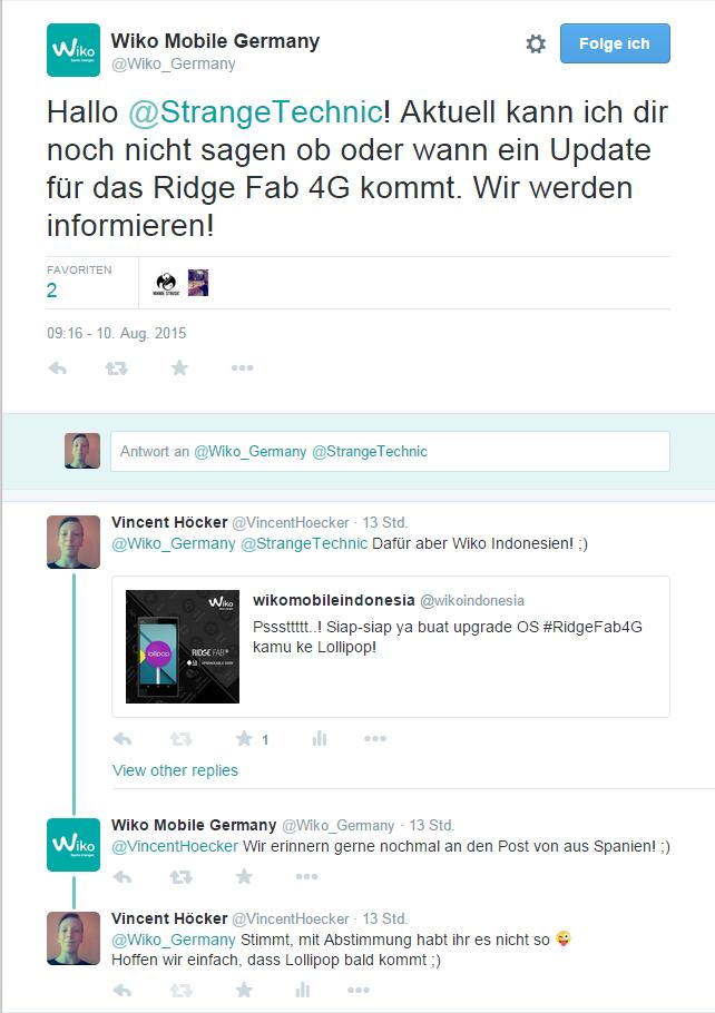 Wiko Twitter