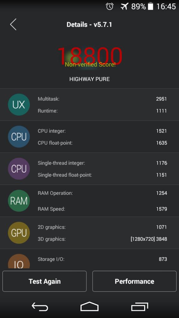 Wiko Highway Pure Test