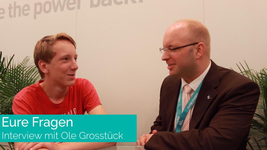 Interview mit Ole Grosstück