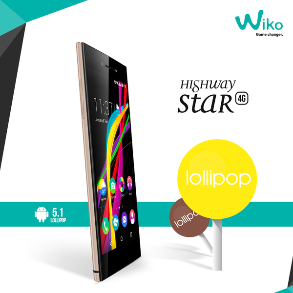 Wiko Highway Star 4G Lollipop 2
