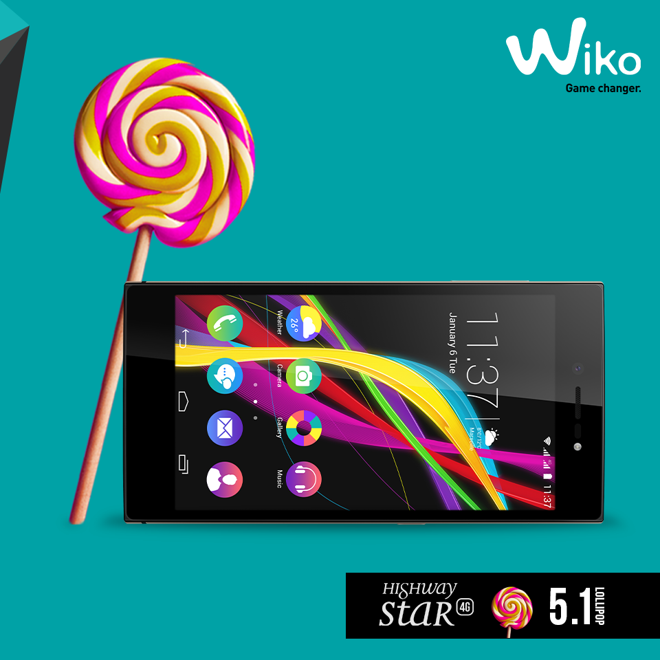 Wiko Highway Star 4G Lollipop 3