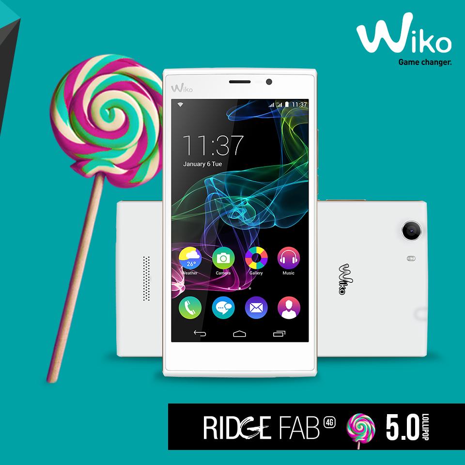 wiko ridge fab lollipop