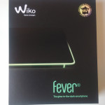 Verpackung des Wiko Fevers