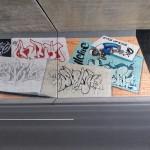 Graffiti - Wand - Tunnel