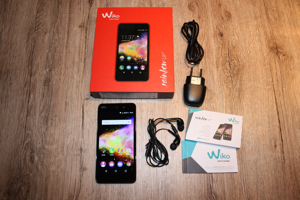 Lieferumfang Wiko Rainbow Up