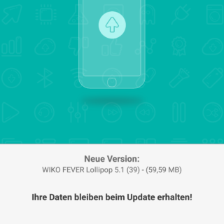 Wiko Fever Update 39